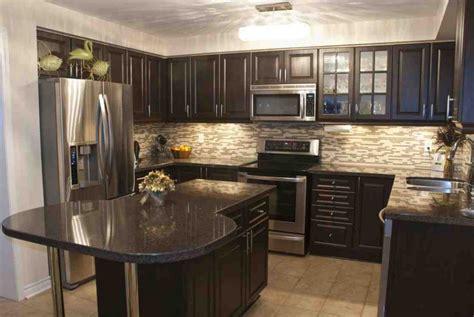 dark oak kitchen cabinets decor ideas
