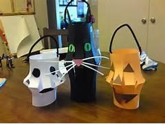 Christmas Craft Ideas Woven Pumpkin Halloween Craft Instructions