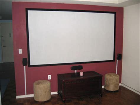 diy projector screens part iii lets flok