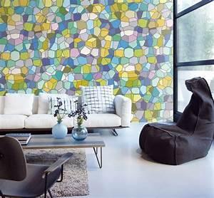 Wände Gestalten Farbe : wandgestaltung wohnzimmer mutige und moderne wahl ~ Sanjose-hotels-ca.com Haus und Dekorationen