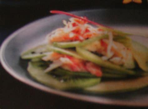 cuisine de lili salade d 39 avocat au kiwi et au crabe la folle cuisine de lili