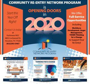 houston health department community  entry network program