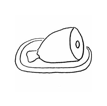Ham Clipart Clip Eggs Printable Worksheets Coloring