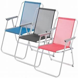 Chaise Camping Pliante : chaise pliante gelert bembridge raviday camping ~ Melissatoandfro.com Idées de Décoration