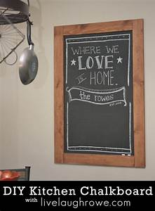 Kitchen chalkboard quotes quotesgram for Chalkboard for kitchen