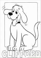 Coloring Clifford Dog Coloringpages101 Printable Pdf sketch template