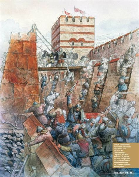 Avars Siege Of Constantinople 626 Ad  Ancientdark Ages