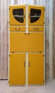 Vintage Retro Kitchen Larder Cabinet Kitchenette Cupboard