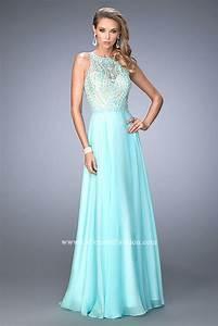 Size Chart La Femme 22586 Prom Dress Prom Gown 22586