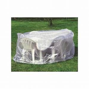 Housse Table De Jardin : housse pour salon de jardin housse pour table ronde et chaises ~ Teatrodelosmanantiales.com Idées de Décoration