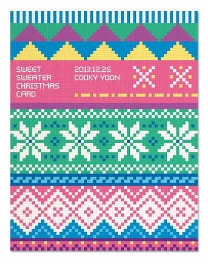 Sweater Christmas Behance Patterns