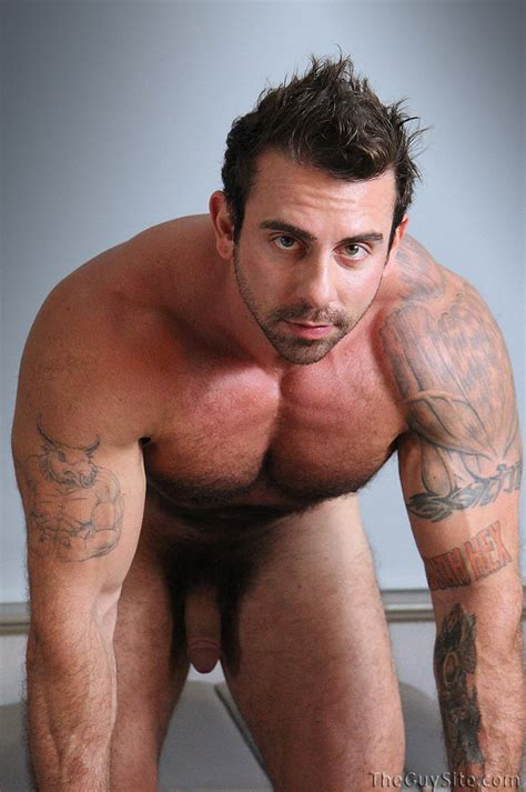 MEN: Clothed to Naked: Xavier - Naked Hairy Bodybuilder
