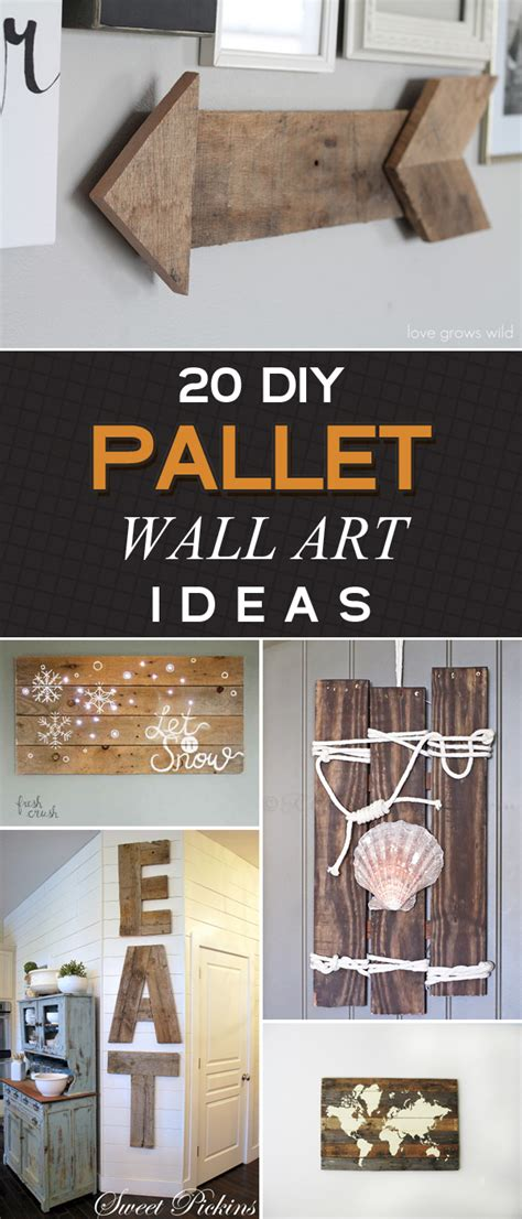 It's an easy and simple craft project, and seashell can add a touch of seaside flair to any room in your home. 20 Amazing DIY Pallet Wall Art Ideas That Will Elevate Your Home Decor