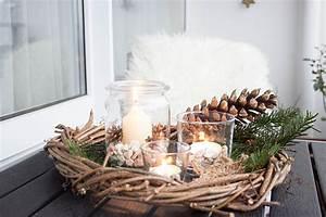 ars textura 4 rustikale weihnachtsdeko fur den balkon With französischer balkon mit große windlichter für den garten