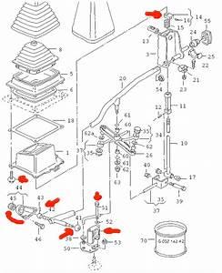 Manual Transmission Linkage Diagram 95 Eurovan