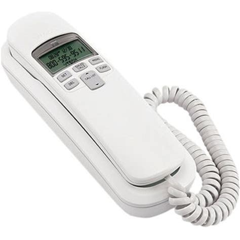 corded wall phone with caller id vtech corded phone with caller id white cd1113wt