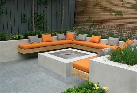 built  firepit seating outdoor google search built