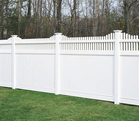 pictures of privacy fences vinyl fence products aroostook fence