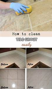 How to clean tile grout easily homemade recipe for How to clean floor tile grout easily