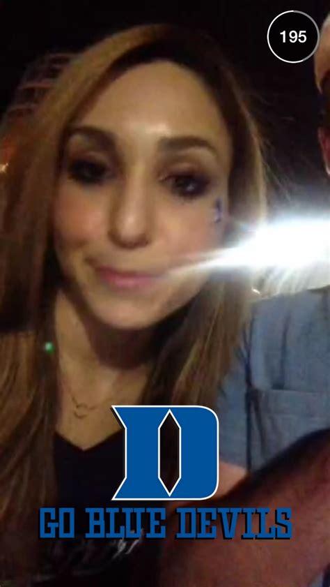 duke  wisconsin national championship snapchat story
