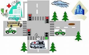 Intelligent Traffic Light Control System Using 8051 Microcontroller