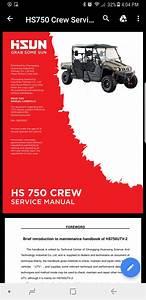 Hisun 750 Service Manual - Hisun Utv Sxs Forum