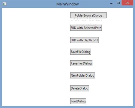 Download WPF Dialogs 0.2.5