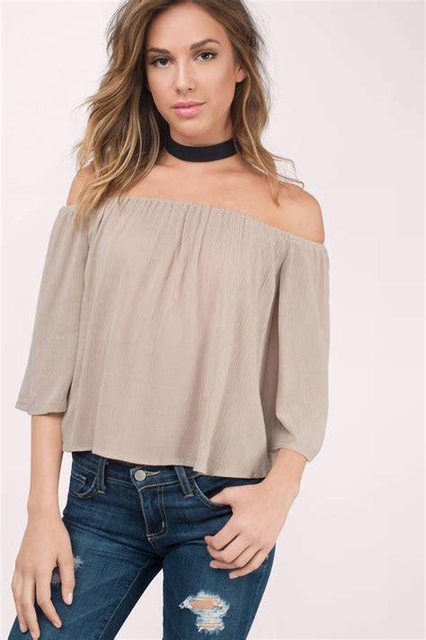 the blouse black blouse shoulder blouse 40 00