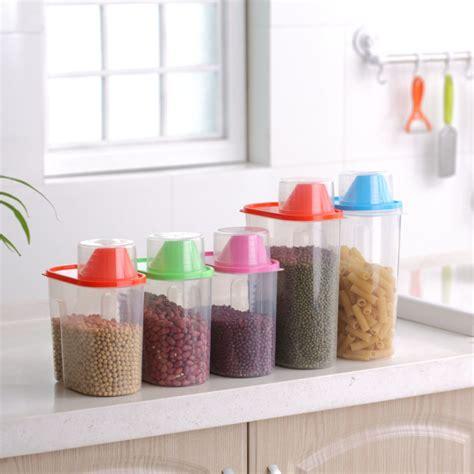 plastic kitchen accessories 1 9l 2 5l plastic jar kitchen accessories food 1536