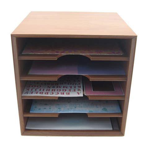 Scrapbook Paper Storage Cabinet In Scrapbook Organizers