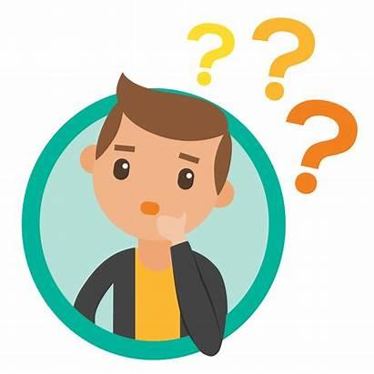 Thinking Think Animated Cartoon Clipart Emoji Person
