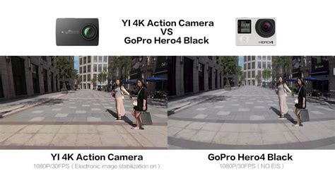 Electronic Image Stabilization Comparsion Demo #yicamera