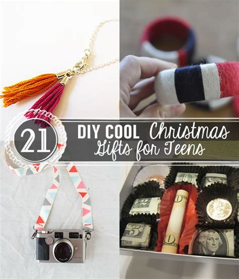 21 diy cool christmas gifts for teens