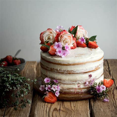 Cake Images Vegan Vanilla And Berry Layer Cake Caris Cooks