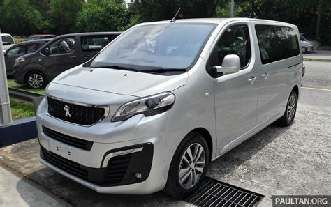 Peugeot Traveller Spotted Ahead Of Msia Q3 Launch