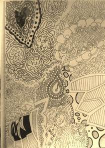 Abstract Line Art Drawings