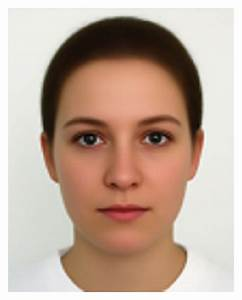 The Average Female Face Image Magnified By A Factor Of 3