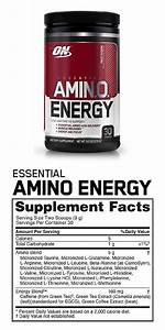 Optimum Nutrition Amino Energy Compex Of Amino Acids Pre Workout  Fruit Fusion  By O U0026n  With