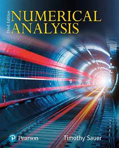 Numerical Analysis  Ebook Rental