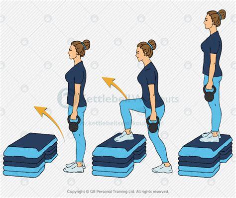 step ups lunges knees lunge bad kettlebell alternatives pain alternative exercise weak