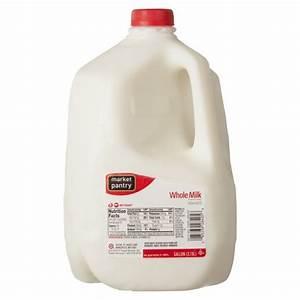 Whole Vitamin D Milk - 1gal - Market Pantry : Target
