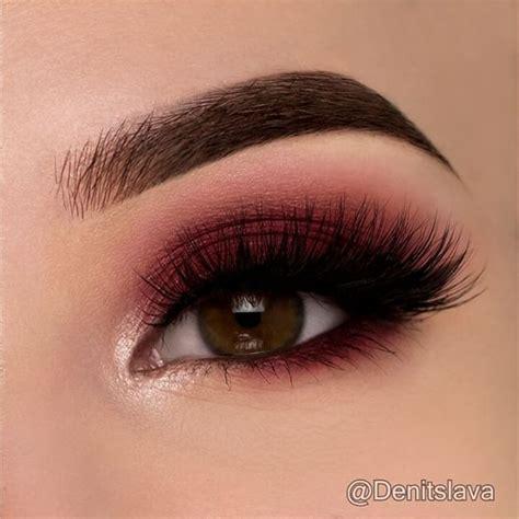 maroon smokey eye atdenitslava black eyeliner