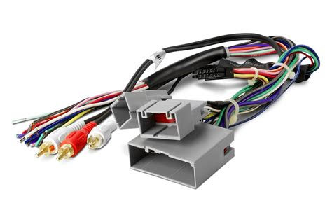 2006 Ford Fusion Stereo Wiring Harnes by Wiring Harnesses At Carid