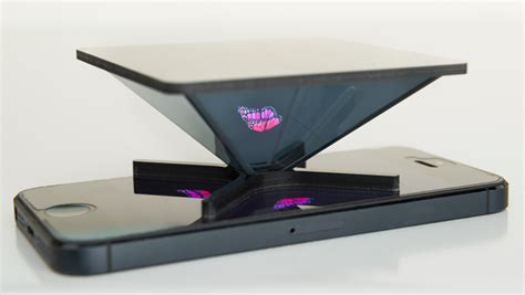 holho hologramm projektor fuer smartphones und tablets