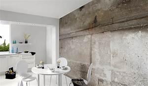Tapete In Betonoptik : trend report tapeten im betonlook ~ Orissabook.com Haus und Dekorationen