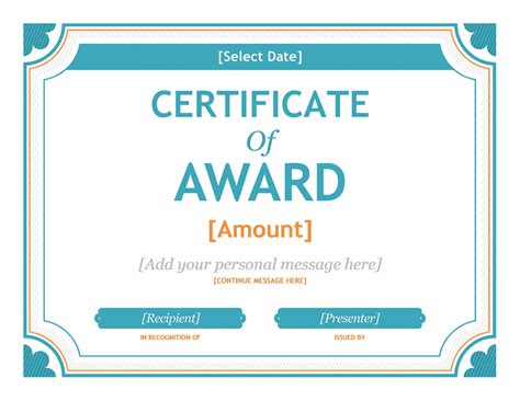 gift certificate template word  templates  love