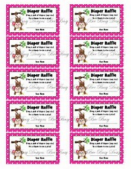 Best 25 ideas about diaper raffle ticket template free find free printable diaper raffle ticket template pronofoot35fo Images