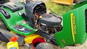 John Deere L100 Lawn Tractor Diagnosis Complete  Electrical Issues Identified  Time To Button Up