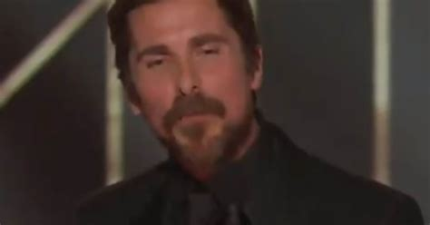 Hollywood Values Actor Christian Bale Thanks Satan During