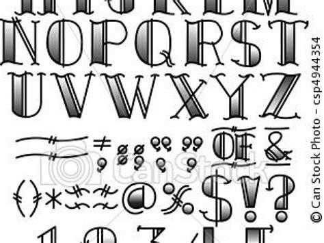 tatouages301 lettre alphabet tatouage